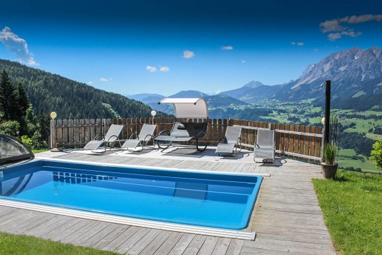 Appartements mit Pool - Region Schladming - Haus Taxegger / Ennstal