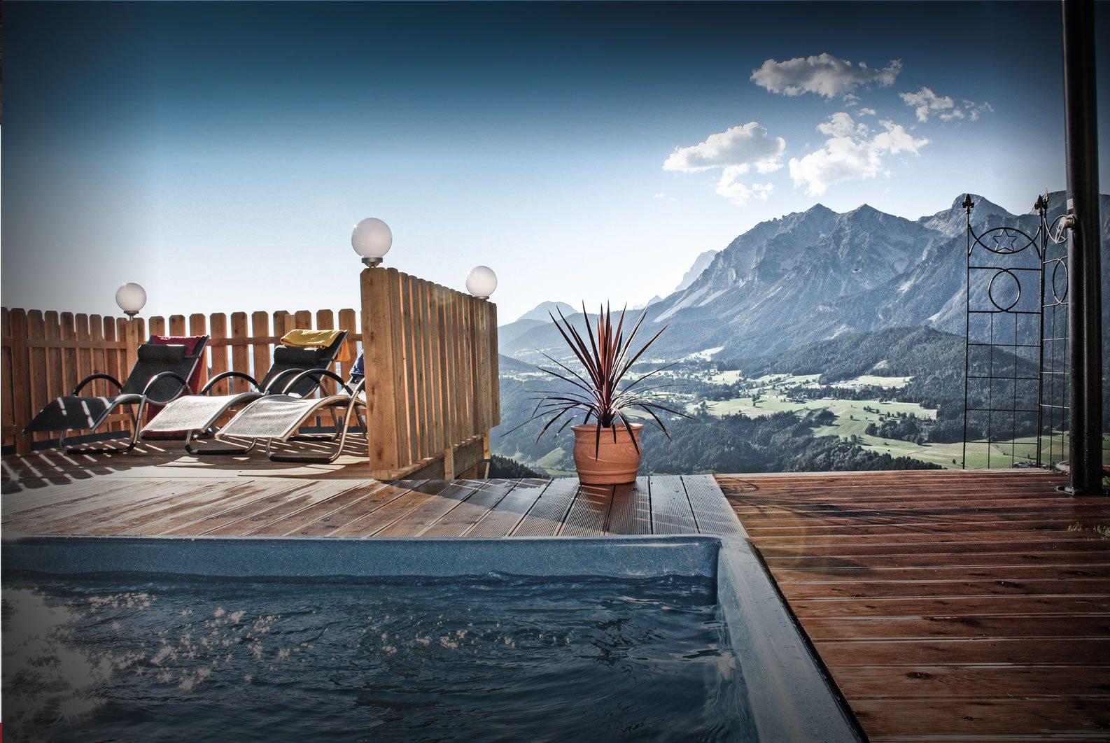 Urlaub in Haus / Ennstal nahe Schladming - Appartement mit Pool